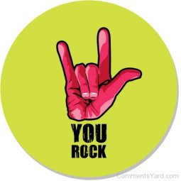 You-Rock-Green-Background-Cy122